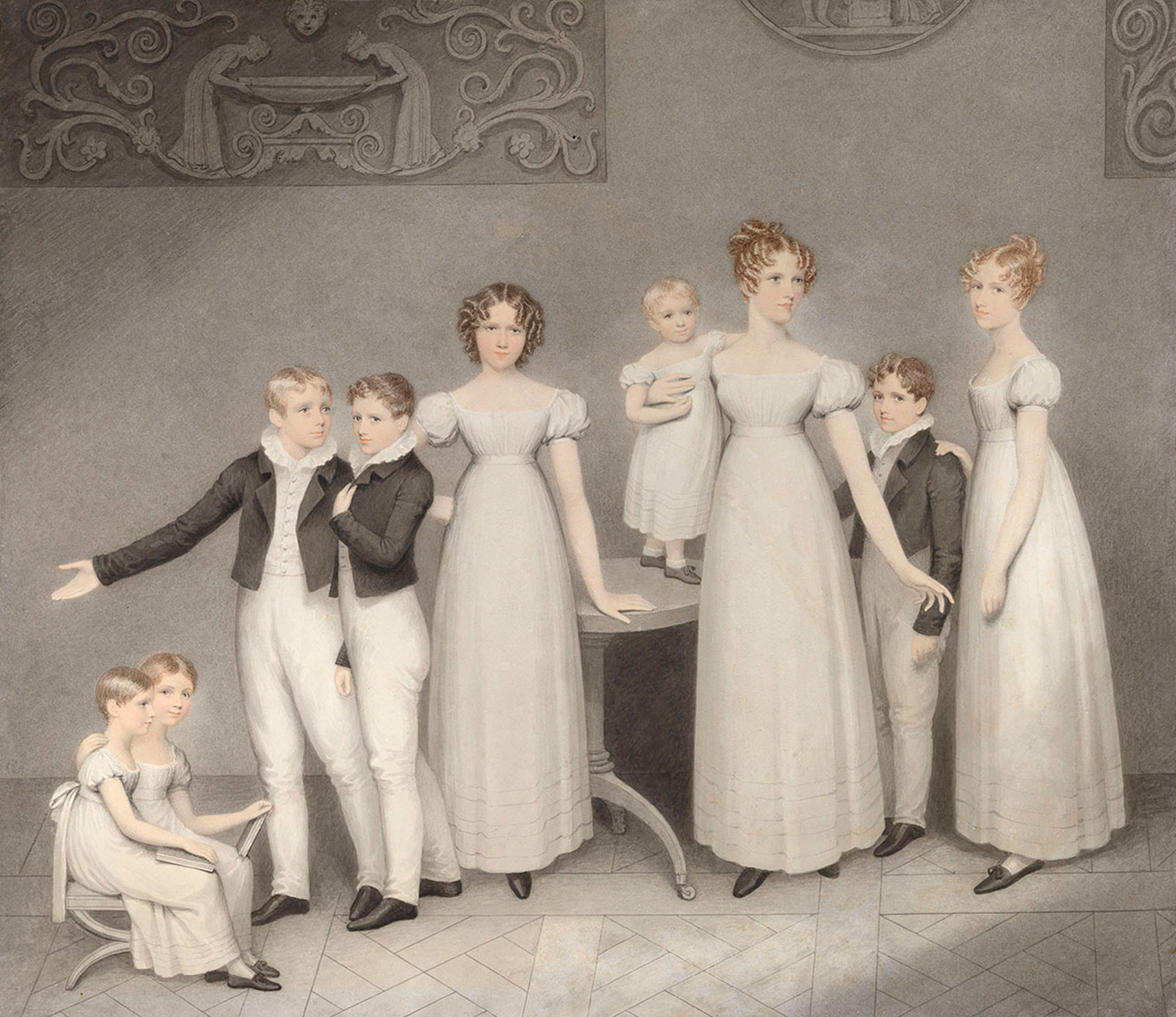An Elegant Society: Adam Buck, artist in the age of Jane Austen ...