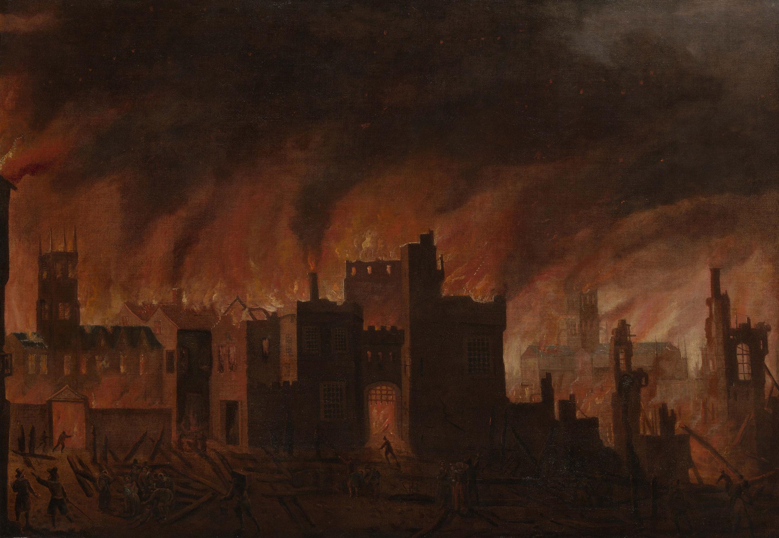 колесо, великий лондонский пожар картинка анечка