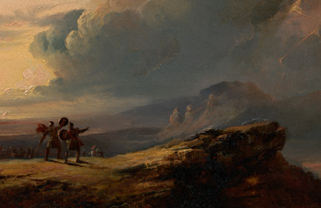 John Martin: Macbeth and the Three Witches