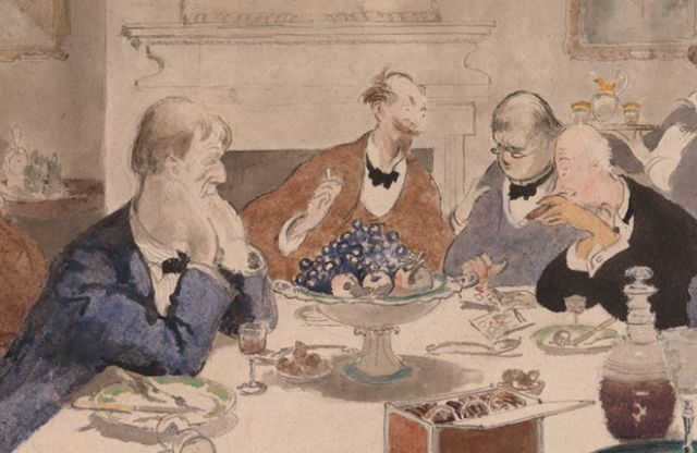 Henry Tonks: The conversation then turned on Tonks